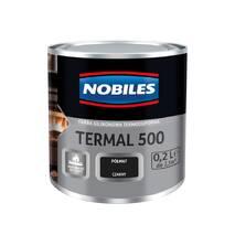 """Емаль термостійка """"NOBILES TERMAL +500°C"""" срібло 0,7л."""