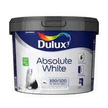 Водоемульсійна фарба DULUX ABSOLUTE WHITE для стін і стель 5,0л.