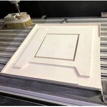 Огнеупорные плиты LYTX-264B/1260 из керамического волокна, 1200х1000х50 мм, на 1260°С. Подходят для фрезеровки