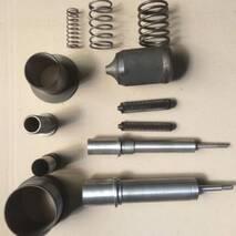 Запасные части на сменные узлы на машину Б-4-58 (стакан, чем, гильза, заноза, пружина)