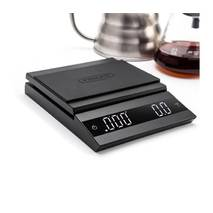 Весы Felicita Parallel для приготування кави і чаю, чорні