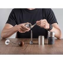 Ручна кавомолка 1Zpresso K-Pro з регулюванням рівня помолу  | з конічними жерновами