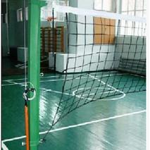 Стойки универсальные волейбол/бадминтон с устройством натяжения троса
