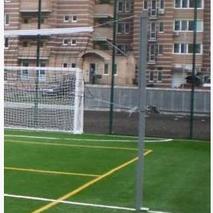 Стойки универсальные бадминтон/волейбол с устройством натяжения троса