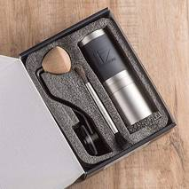 Ручна кавомолка 1Zpresso JX з регулюванням рівня помолу  | з конічними жерновами