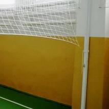 Стойки волейбольные пристенные с устройством натяжения