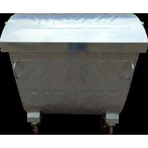 Контейнер металлический для сбора ТБО (Евроконтейнер, 1,1 куб.м.)