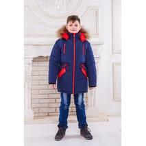 Зимняя парка для мальчика «аляска»