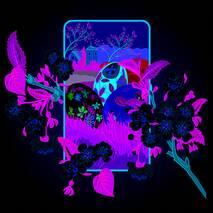 """Салфетка  ТМ """" La Fleur""""  ЗЗхЗЗ,  2 слоя """"Весеннее цветение"""" 20шт."""