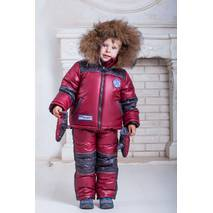 Зимний комбинезон для мальчика «бомбер»