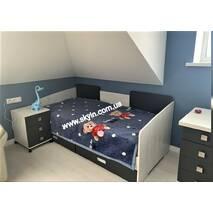 Дитяче, підліткове ліжко Сіті з висувними шухлядами