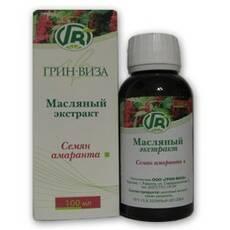 Натуральное масло семян амаранта 100мл