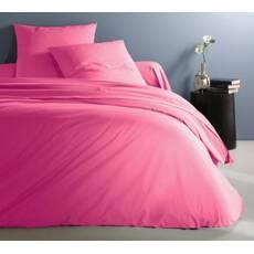 Комплект постельного белья Премиум Сатин Розовый Барби
