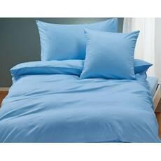 Комплект постельного белья Сатин Премиум Голубой