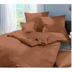 Комплект постельного белья Сатин Премиум Тауп беж