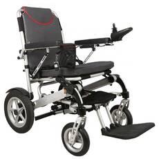 Сверхлегкая электроколяска для инвалидов MIRID D6034. Складывается с помощью пульта.