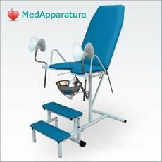 Крісло гінекологічне з  пневматичним приводом КГ-1М