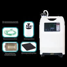 Кисневий концентратор OLV - 10 Dual Flow на 10 літрів (подвійний потік)    Подарунок