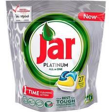 Капсули для посудомийки Jar platinum 27 шт Бельгія