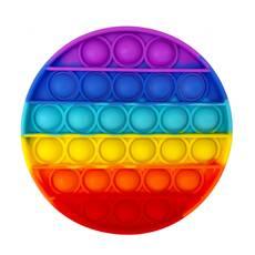 Pop it (Поп ит) антистресс круглый радуга