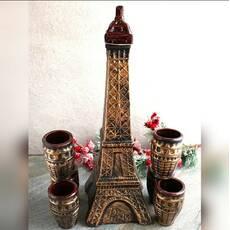 Графин для вина с кубками Эйфелева Башня