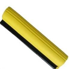 Насадка-губка для швабри з віджиманням жовта з целюлози 28 см