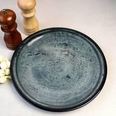 Мелкая плоская тарелка бирюзовая Kutahya Porselen Corendon 190 мм (NB3019)