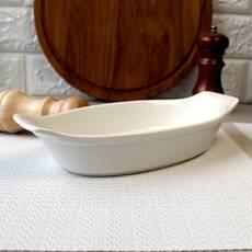 "Блюдо для лазаньи фарфоровое 9,25"" HLS Extra white 120х250 мм (W0229)"