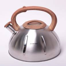 Большой чайник Kamille 5л из нержавеющей стали со свистком