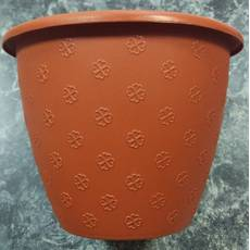 Маленький терракотовый цветочный горшок 2л 18*14 см, цветочный вазон