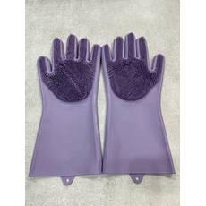 Силиконовые перчатки для мытья и чистки / SD-302