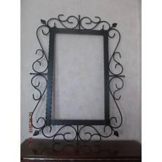 """Кованая рамка для зеркала """"Кассандра"""""""