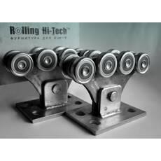 Фурнитура для откатных ворот: Усиленный комплект до 350кг(металлические ролики)