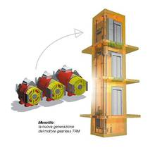 Електричний ліфт Monolito вантажопідйомністю від 180 до 5000 кг