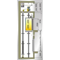 Електричний ліфт Monolito вантажопідйомністю від 350 до 2000 кг