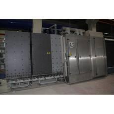 Склопакетна лінія Lisec 2000 X 2500 з газ пресом і роботом герметизації