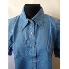 Жіноча джинсова сорочка норма і батал оптом - Товари - Женская ... 97d09cc2362ea