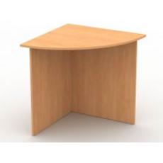 Кутовий приставний столик