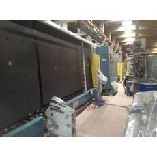 Стеклопакетная линия Lisec 2000 X 2500 с газ прессом и роботом герметизации