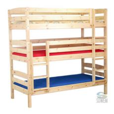 Трехъярусная детская кровать