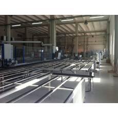 Завод для производства 200-240 ПВХ окон 2009 год