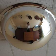 Купольне сферичне дзеркало 600/360