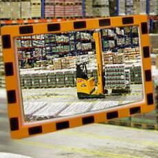 Зеркало безопасности на производстве INDU 400*600