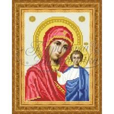 TO043ан1622  Казанская Икона Божией Матери 16 см x 22 см