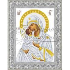 TO039ан1622  Владимирская икона Божией Матери 16 см x 22 см