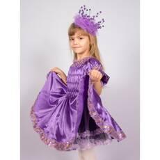 Карнавальний костюм Принцеса (фіолетовий)