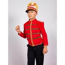 Карнавальний костюм Гусар (червоний)