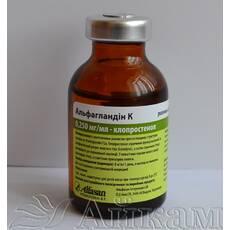 Альфагландин К ветеринарний препарат