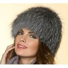 2. Жіноча хутряна шапка (снопик на трикотажі) - Товари - Шапки з ... 9890539266348