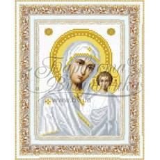 TO041ан1622  Казанська Ікона Божої Матері 16 см x 22 см